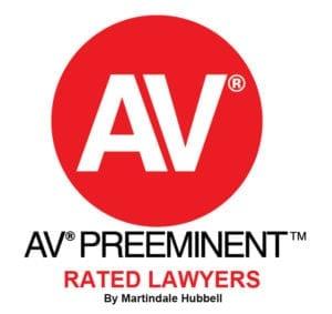 Av Preeminent rated lawyer